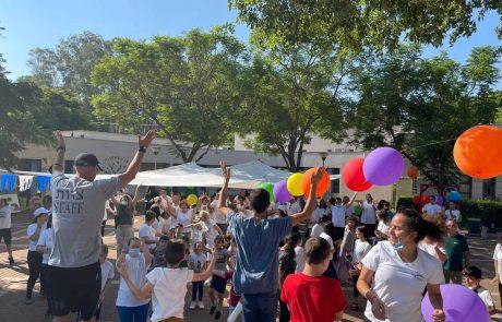 20 שנה לקטיושה שחיברה בין יחידת 769 לבית ספר רננים לחינוך מיוחד!
