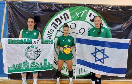 כדורעף הנשים בישראל: בעיני שלוש שחקניות צעירות ומבטיחות