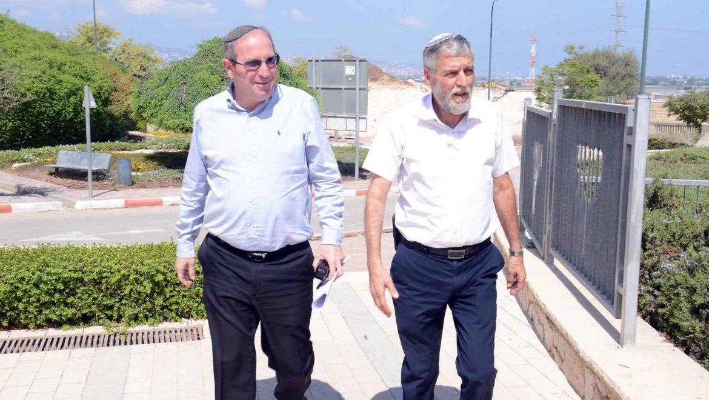 """מנכ""""ל המשרד לשירותי דת בסיור בתל רגב: קצב עבודות הפיתוח וההרחבה מדהים"""