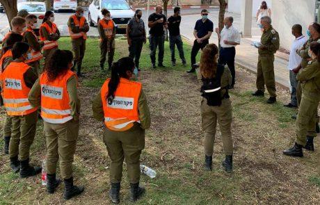 עיריית עפולה חילקה אלפי מסיכות לתושבי העיר