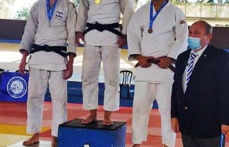 אופק וייסמן מעפולה סגן אלוף ישראל בג'ודו