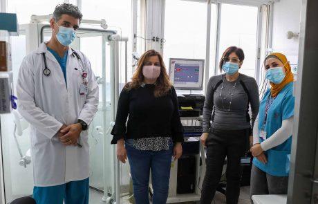 """ברמב""""ם נפתחה מרפאת מעקב למחלימים מקורונה"""