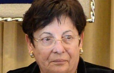 נשיאת העליון מרים נאור פורשת- סיכום פעילותה בניהול הרשות השופטת