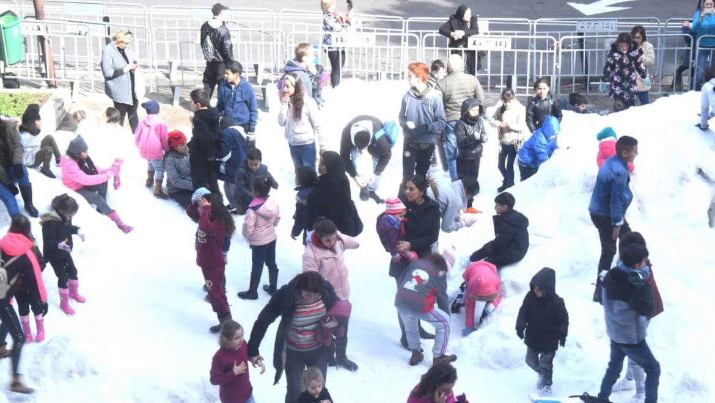 חיפה: השלג בא !