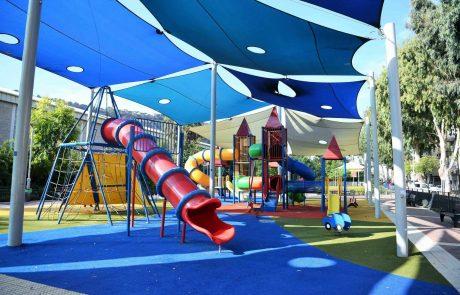 חיפה: גן משחקים שהושחת שוקם מחדש בעלות 100 אלף שקל