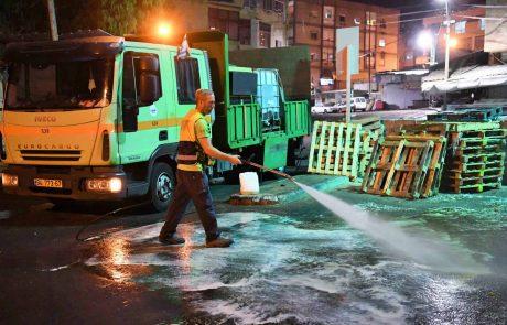 התהפכו היוצרות: בלונדון כוננות מחבלים -בחיפה כוננות תברואה