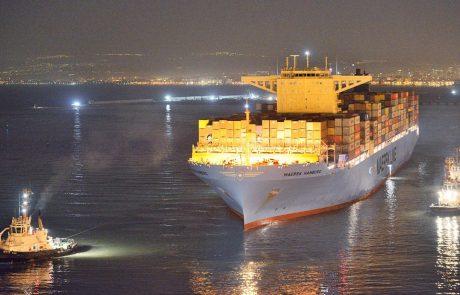 נמל חיפה: האוניה הגדולה ביותר שהגיעה לישראל
