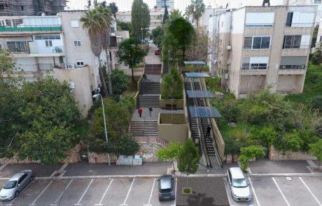 לראשונה בישראל: תוכנית אב חדשנית להקמת מערך דרגנועים בחיפה