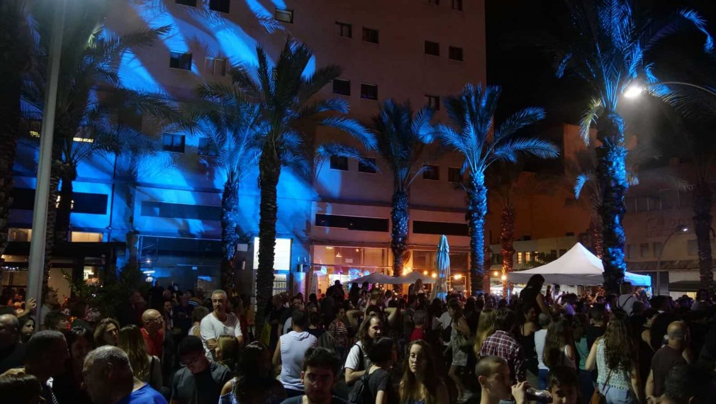 כ-100,000 איש מבלים בשלל אירועי סוכות המתקיימים בחיפה