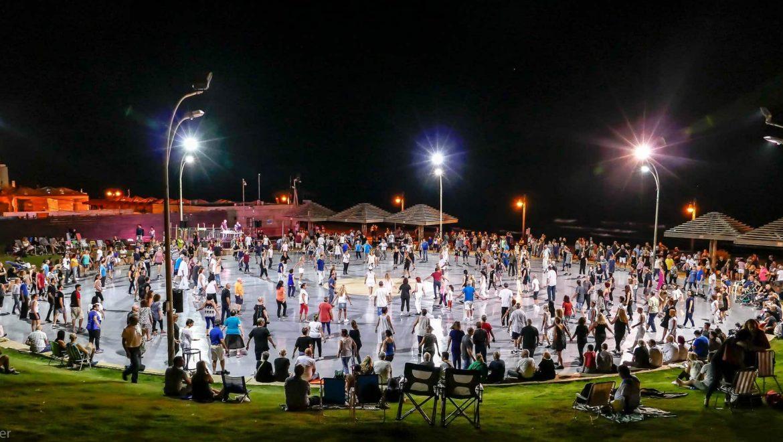אלפי חוגגים באירועי סוכות בחיפה בקריית חיים ובקריית שמואל
