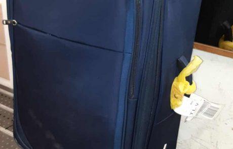 מה שמים במזוודה? סמים קוקאין