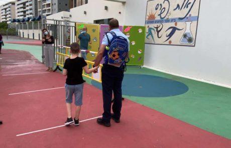 חיפה שבה לשגרת לימודים מותאמת מבוקרת ואחראית לתלמידי כיתות א'-ג'