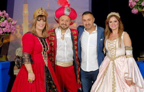 חתונת הכסף בנוסח 'הכלה מאיסטנבול'