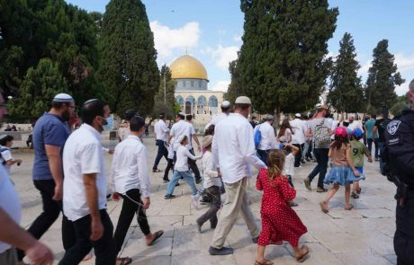 1891 יהודים עלו להתפלל בהר הבית בחג הסוכות
