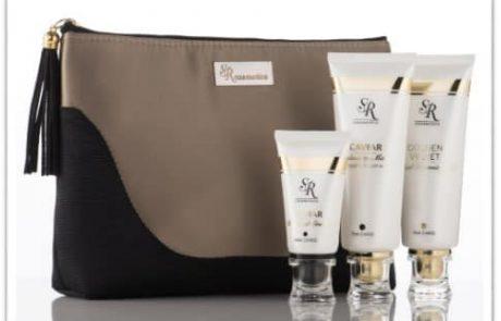 ערכה טיפולית מהודרת במיוחד של חברת cosmetics  SR