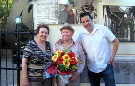 ניצול השואה ושורד גטו ורשה ואושוויץ, שלום שטמברג יחגוג בר מצווה באיחור
