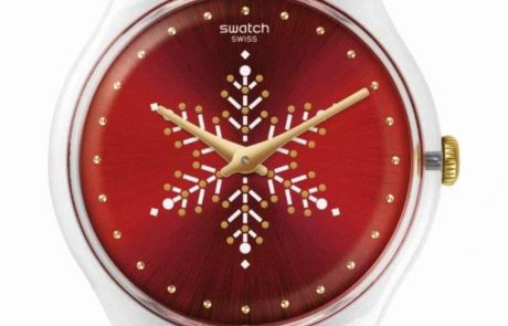 לחגיגות חג המולד סווטש משיקה שעון חדש