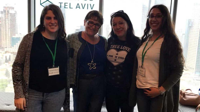 קרית אתא:  תלמידות  ממגמת הנדסת תכנה ביקרו במשרדי  Google תל-אביב: