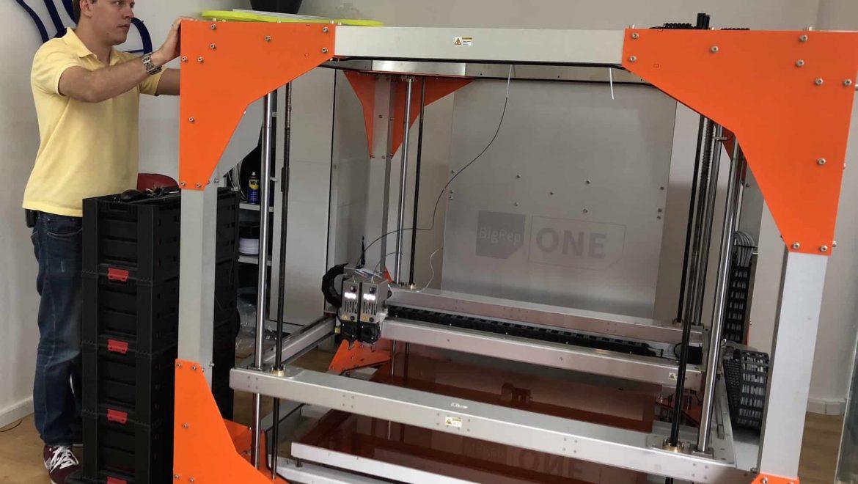 כתר פלסטיק משתמשת בהדפסת תלת מימד  ומדפסת BigRep בעיצוב המוצרים החדשים