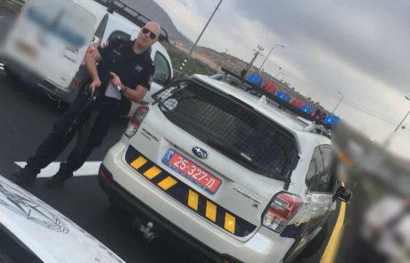 משטרה: מבצע אכיפת תנועה ממוקד בגזרת שומרון