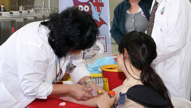"""ביה""""ח רמב""""ם: עליה במספר המטופלים המאובחנים כחולי HIV/AIDS"""