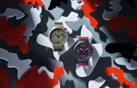 סווטש מציגה: קולקציית שעוני יוניסקס  BIG BOLD