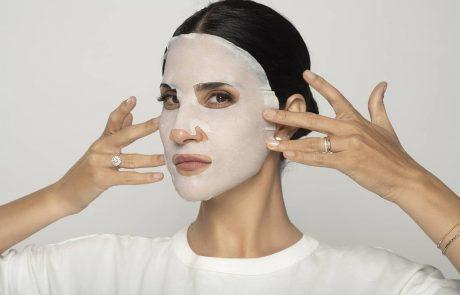 לראשונה: מסכת בד חד-פעמית  לטיהור ולניקוי העור!
