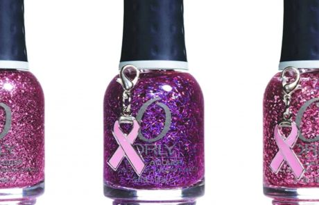 מותג הלק אורלי פועל להעלאת המודעות לסרטן השד