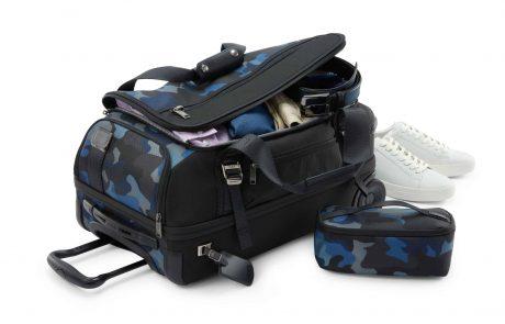 TUMI משיקה: מזוודות ותיקים לטיולי סקי ושטח