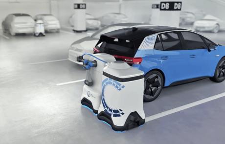 חדש: רובוט הטענה למכוניות חשמליות